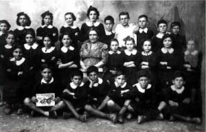 Foto di alunni V°elementare 1952