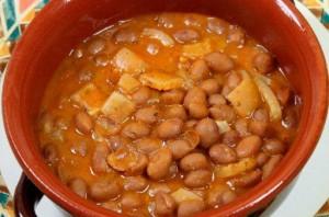 zuppa di fagioli e cotiche